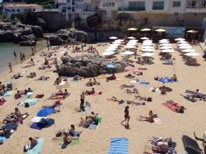 Queen Beach in Cascais