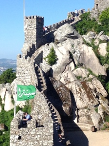 The Moorish Castle in Sintra